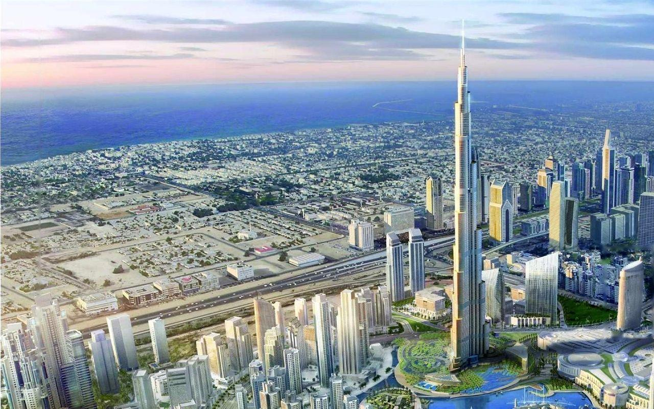 Gorgeous HD Burj Khalifa Dubai skyscraper wallpaper – Another Part ...