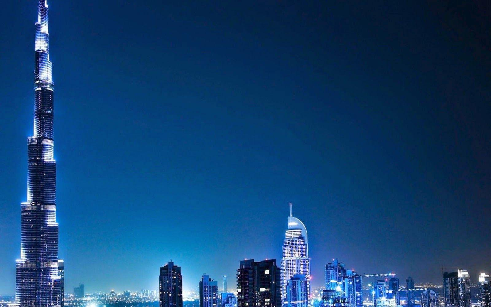 Burj Khalifa At Night wallpaper – wallpaper free download