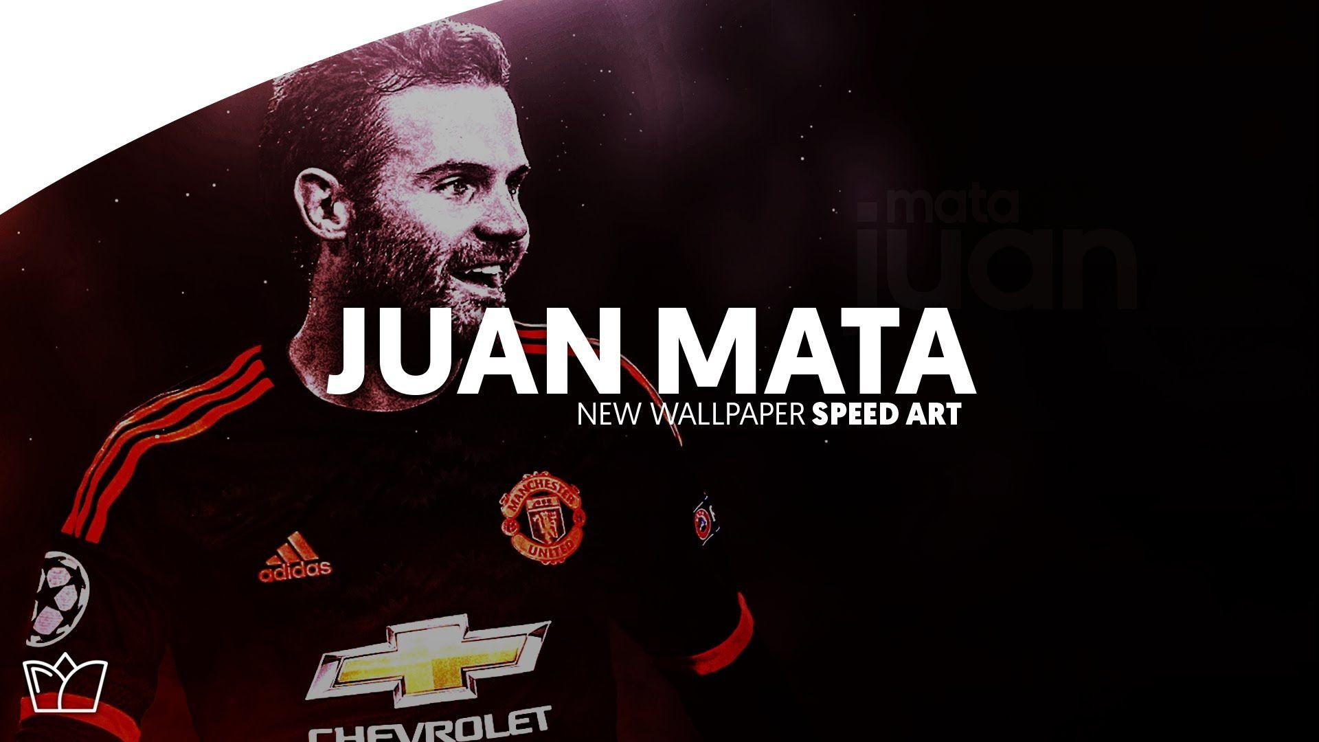 Juan Mata Wallpaper - Speed Art - Designed By StraverDesigns - YouTube