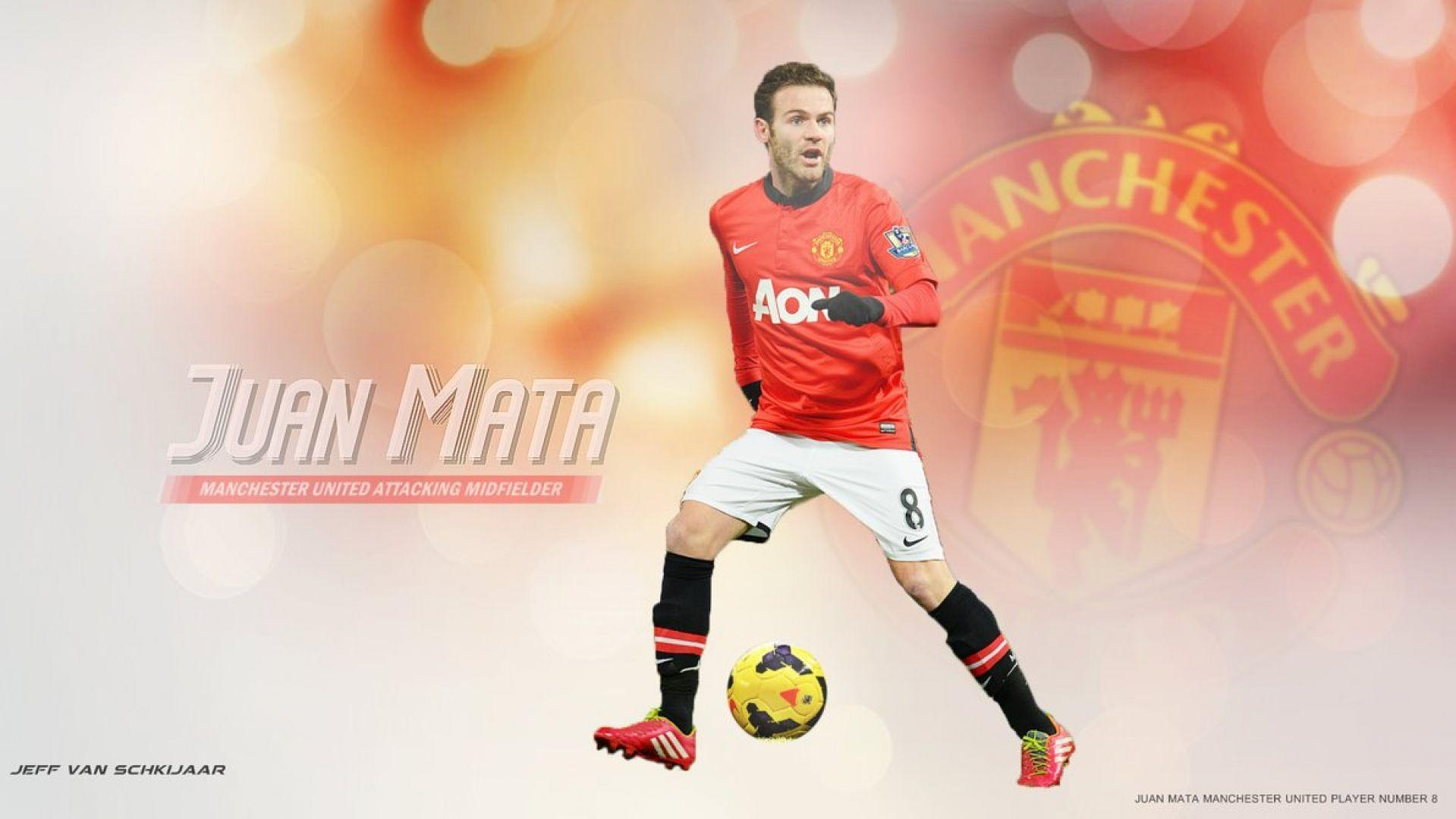 Juan Mata Manchester United Wallpaper | WallpaperPlay