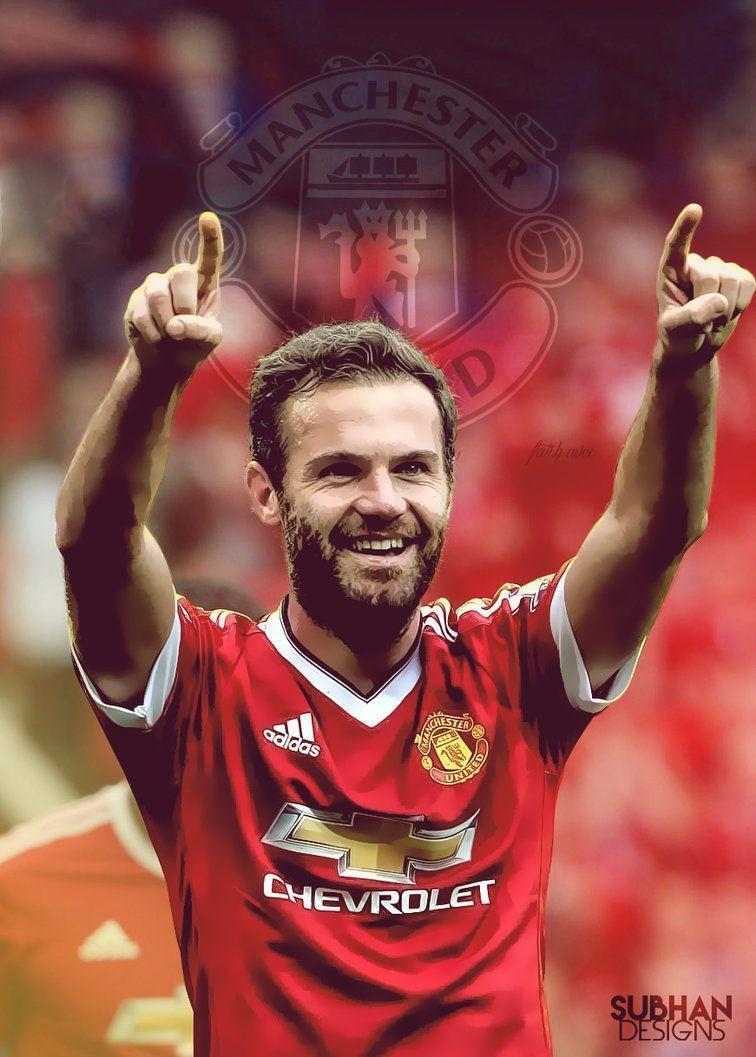 Juan Mata Mobile Wallpaper 2016 by SubhanDesigns on DeviantArt