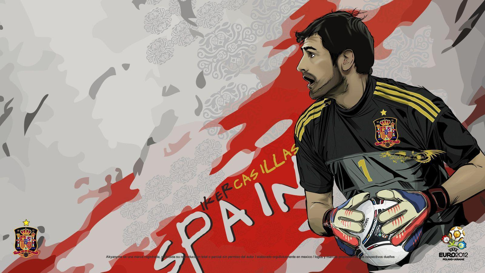 Iker Casillas Wallpaper Euro Grp