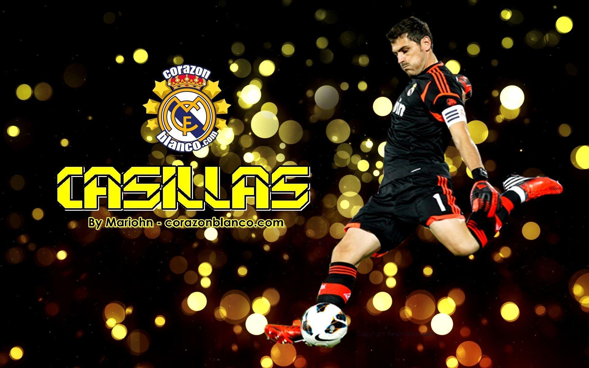 The goalkeeper Real Madrid Iker Casillas wallpapers and images ...