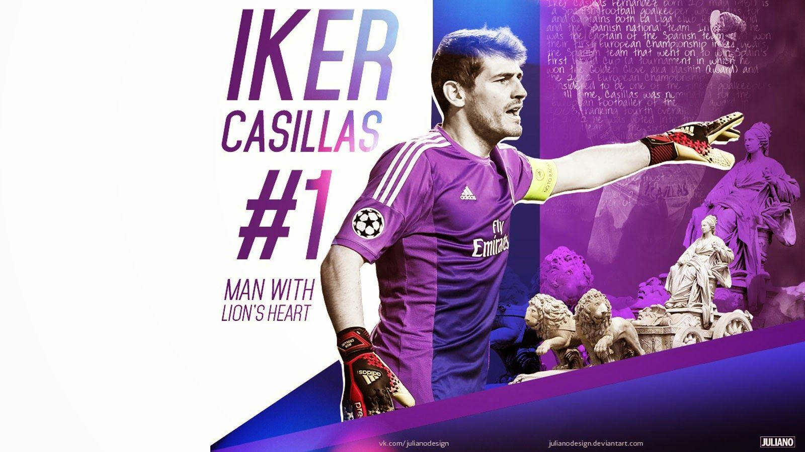 Iker Casillas HD Wallpaper 1 - Catatan Madridista