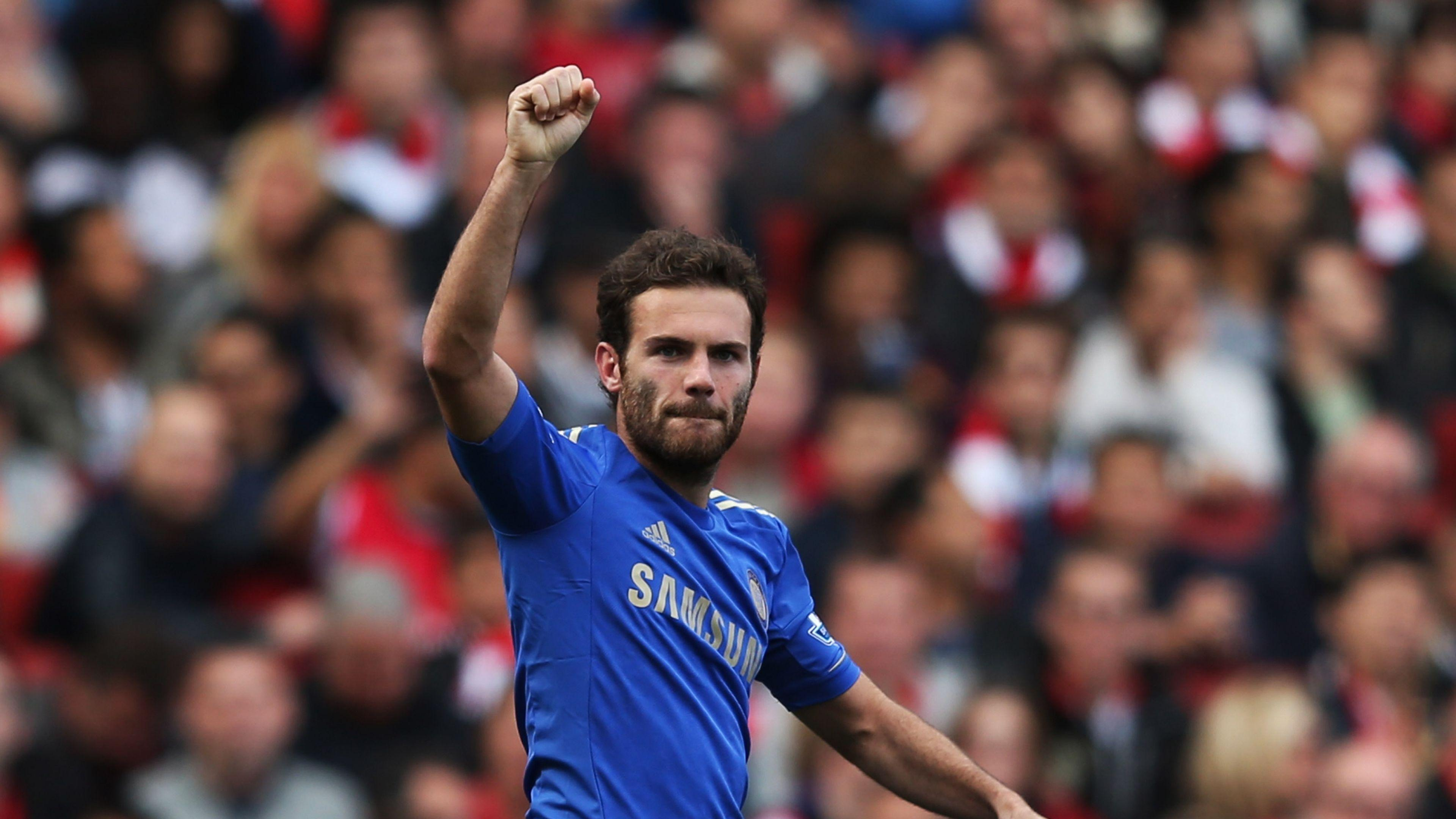 Download Wallpaper 3840x2160 Juan mata, Spain, Midfielder, Chelsea ...