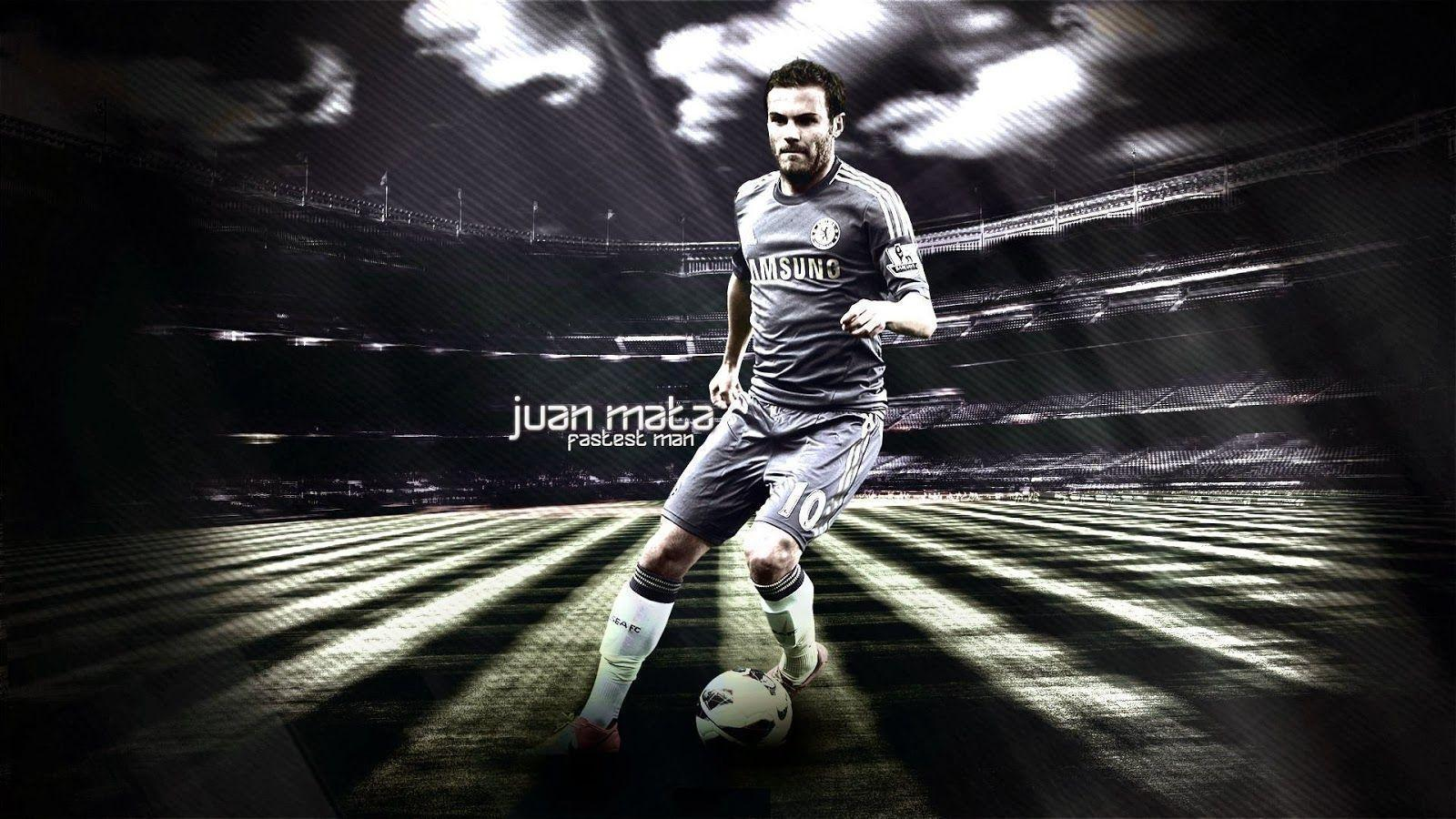 Words Celebrities Wallpapers: Juan Mata 2014 HD Wallpapers Collection