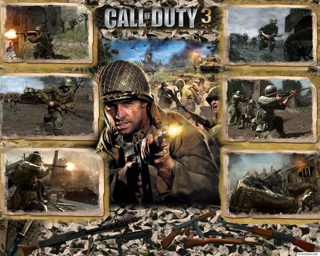 Call Of Duty 3 Wallpapers Group (64+)