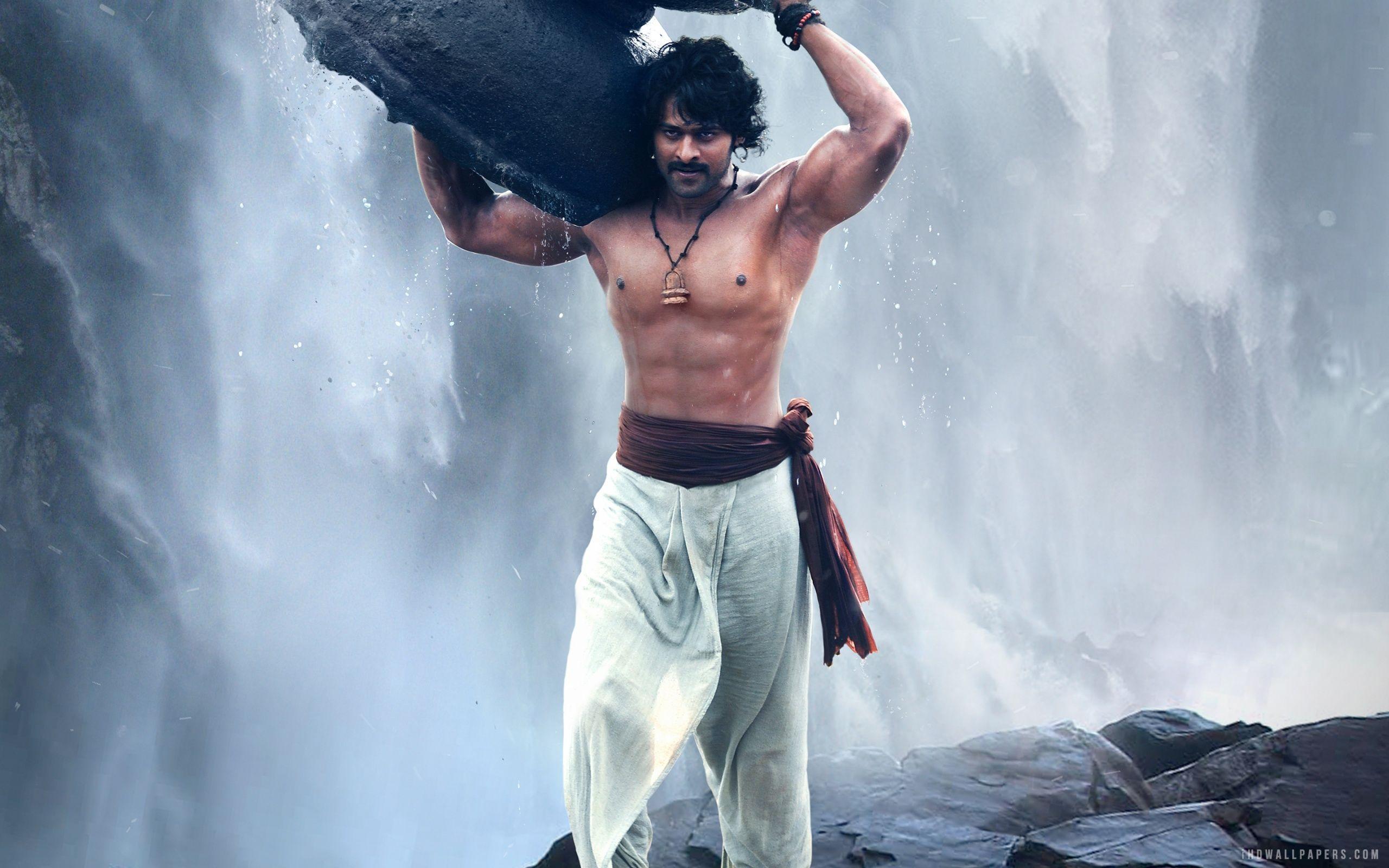 Prabhas as Shivudu in Baahubali HD Wallpaper - iHD Wallpapers