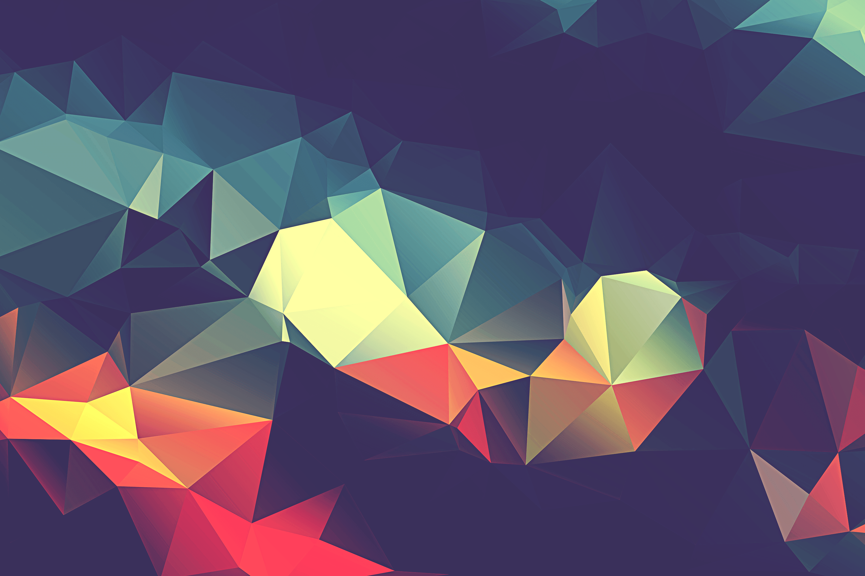 Polygon Wallpaper Collection (38+)