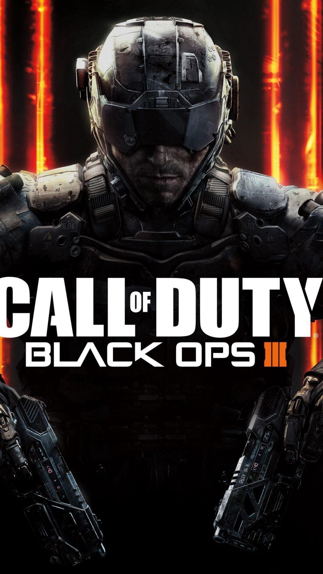 HD Call Of Duty Black OPS 3 Logo Orange Background Wallpaper ...