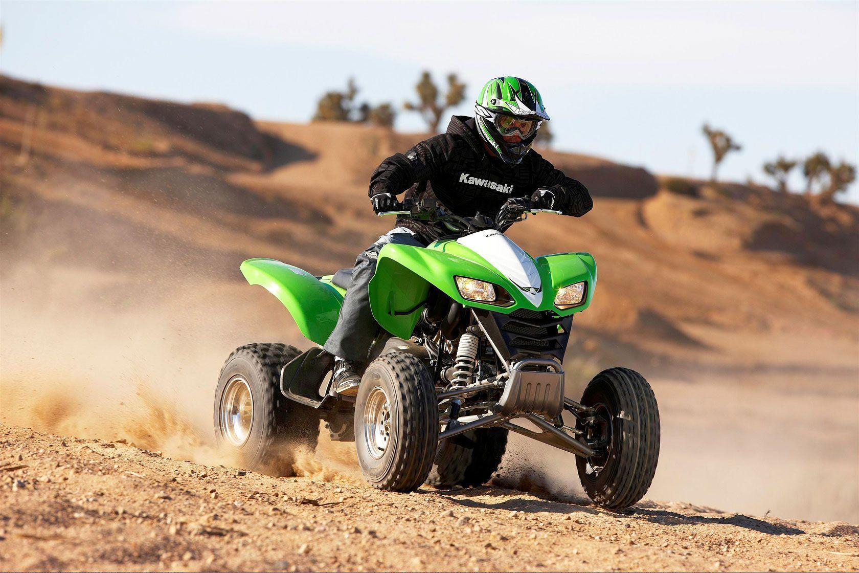 Kawasaki ATV - wallpaper.