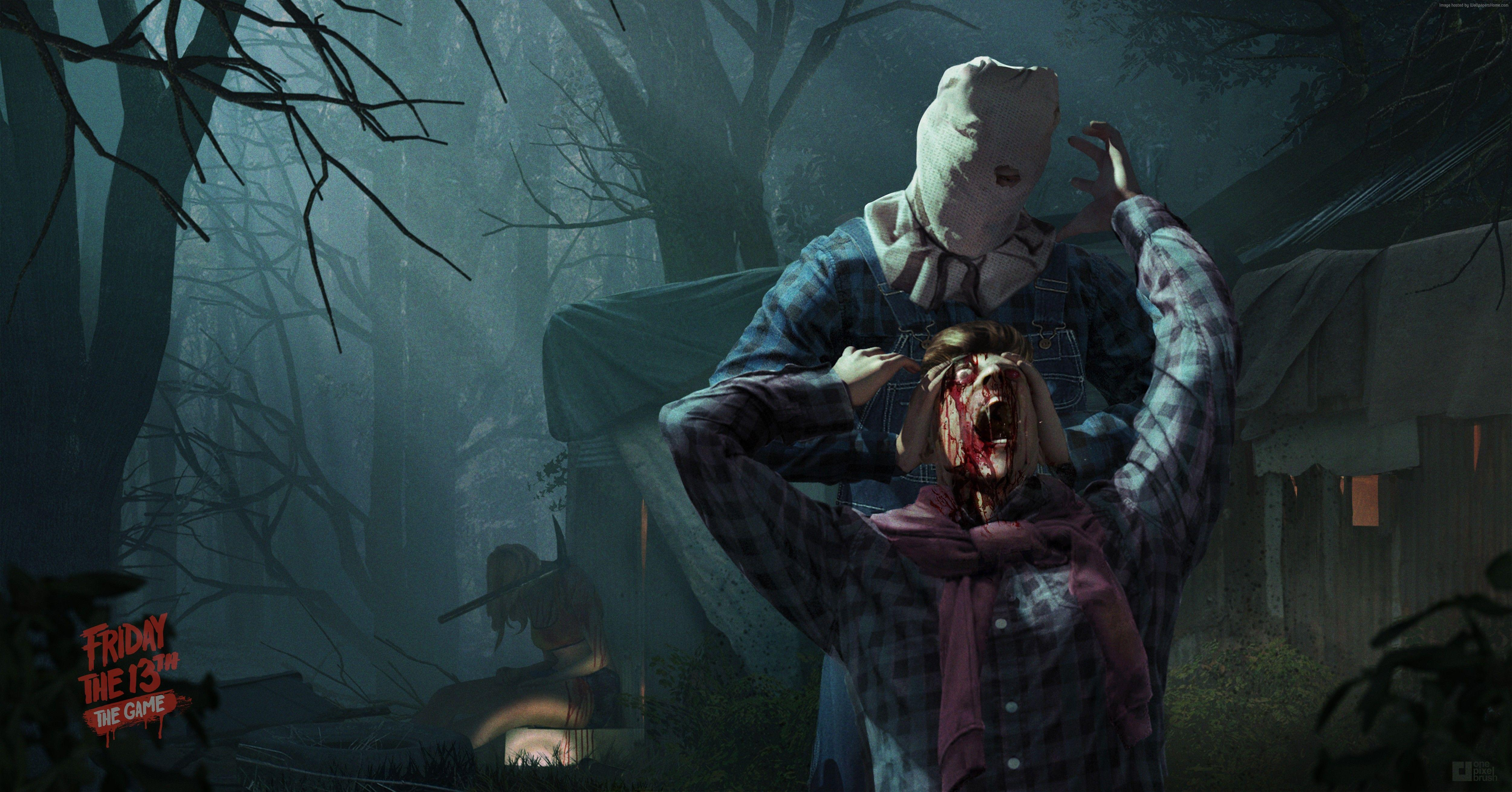 3 Friday The 13th: The Game HD Wallpapers