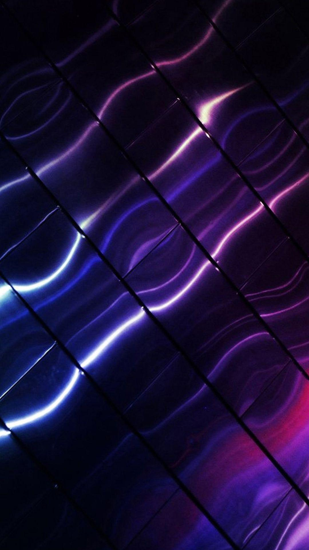 Abstract Sony Xperia Purple Waves Stock Android Wallpaper free ...