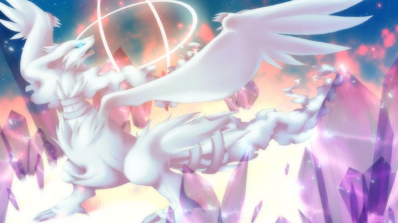 Wallpapers Pokemon Kyo Reshiram By Rukaria Jpg 1366x768 | #500289 ...