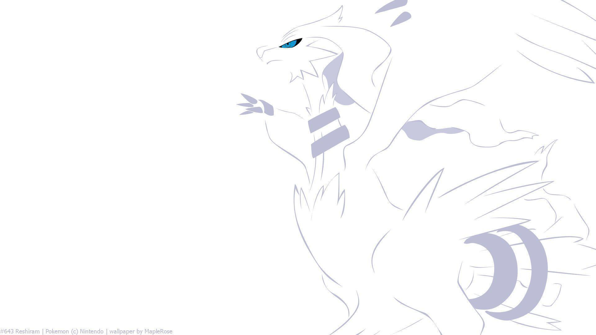 Reshiram HD Wallpapers