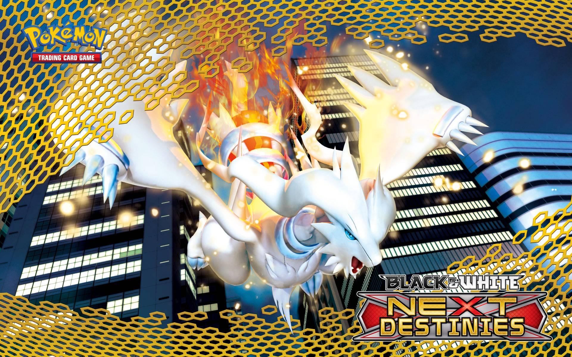 Pokémon TCG Black & White—Next Destinies Reshiram - Pokemon Wallpaper