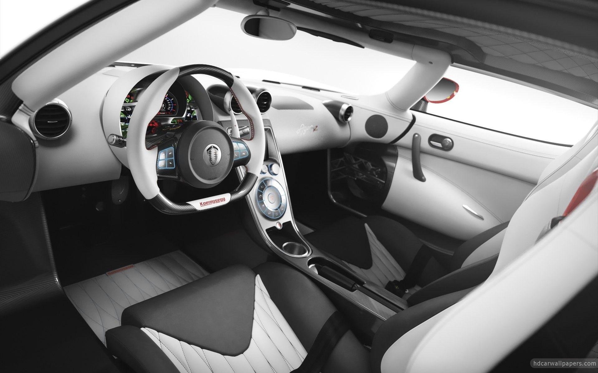 2012 Koenigsegg Agera R Interior Wallpapers