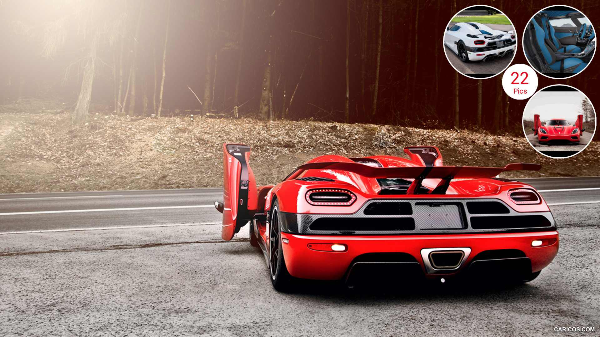 2013 Koenigsegg Agera R - Door Open - Rear | HD Wallpaper #11