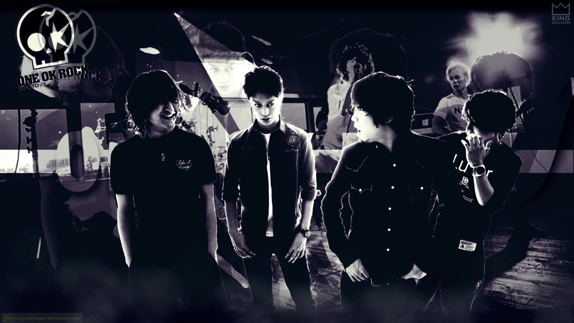 One Ok Rock Wallpaper - @kingwallpaper by Kingwallpaper on DeviantArt