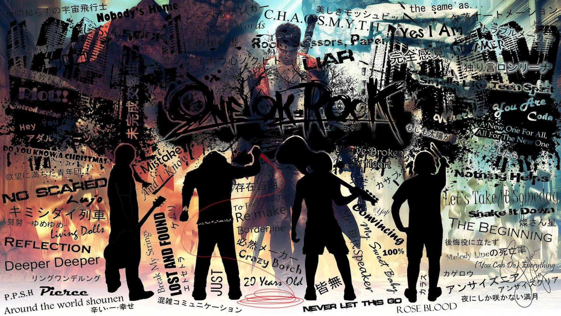 One Ok Rock Song Title Wallpaper #3642 Wallpaper Themes ...