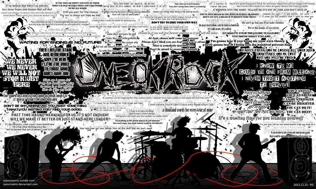 ONE OK ROCK Wallpaper 3 by Eyescreamz on DeviantArt