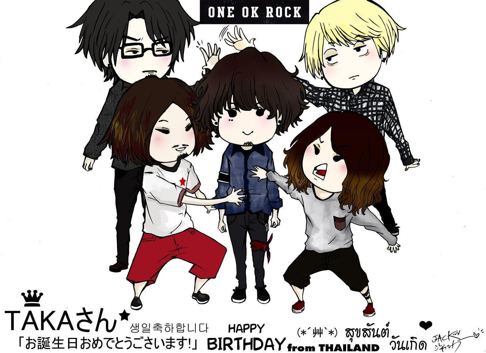 One Ok Rock favourites by Sora-no-Ryu-JG13 on DeviantArt