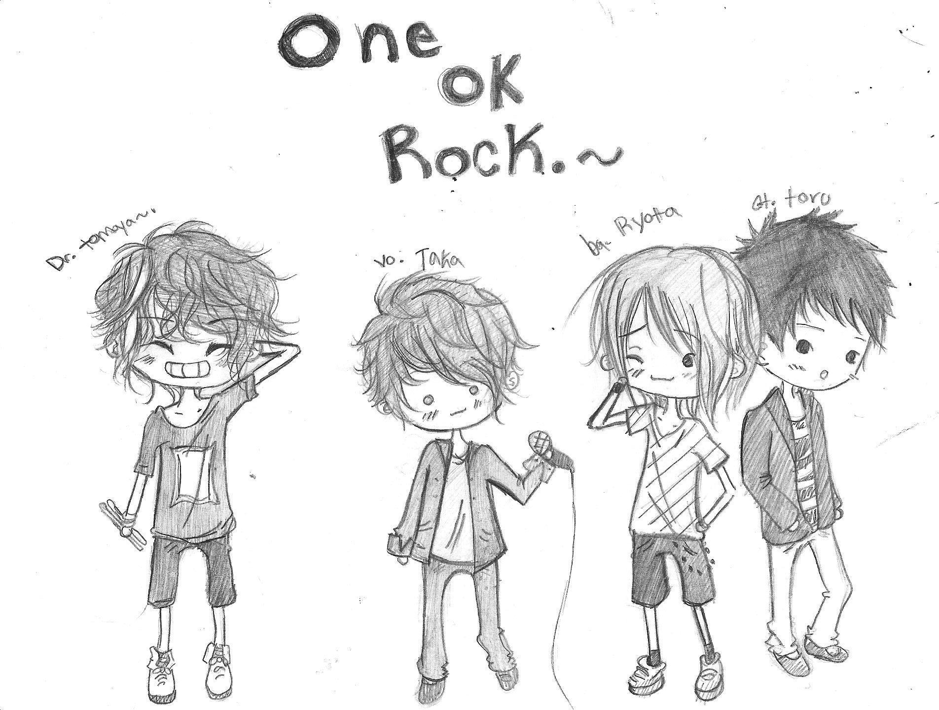 ONE OK ROCK by kiddycatkyo on DeviantArt
