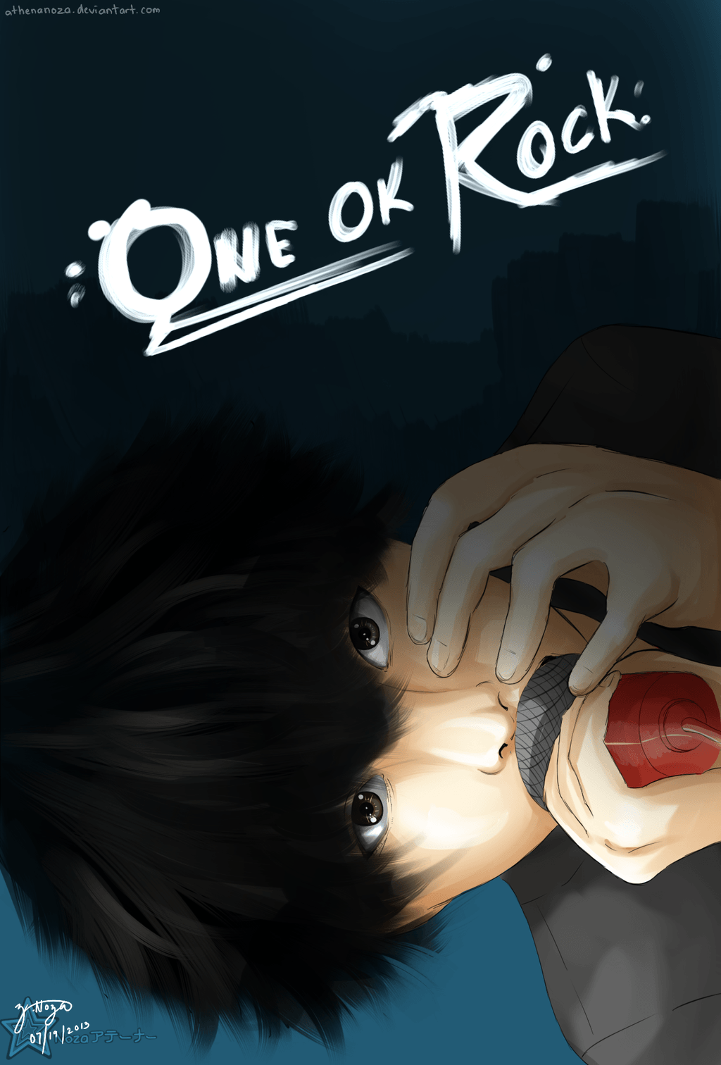 One Ok Rock:Taka by athenanoza on DeviantArt
