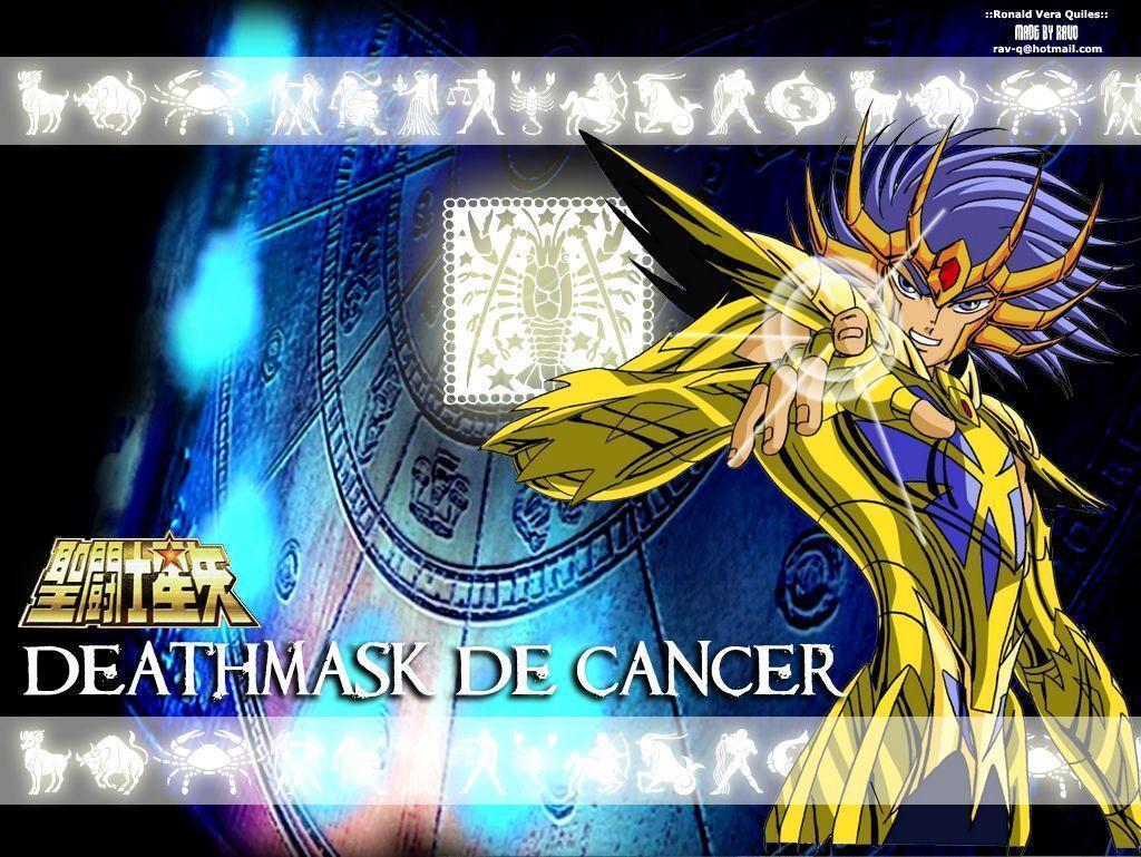 Wallpapers Saiya Gold Saint Seiya Knights Of The Zodiac Deathmask ...