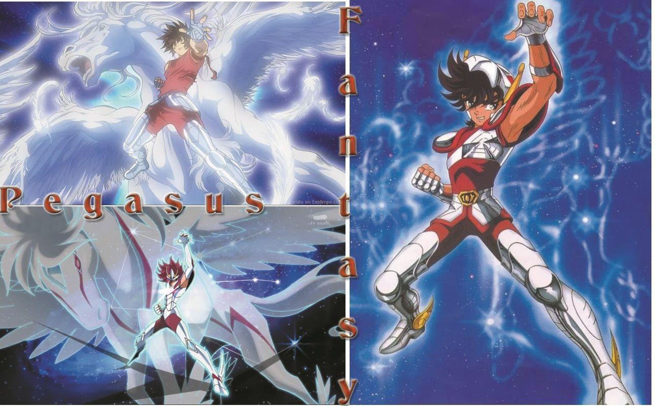 Saint Seiya Pegasus Fantasy Wallpaper