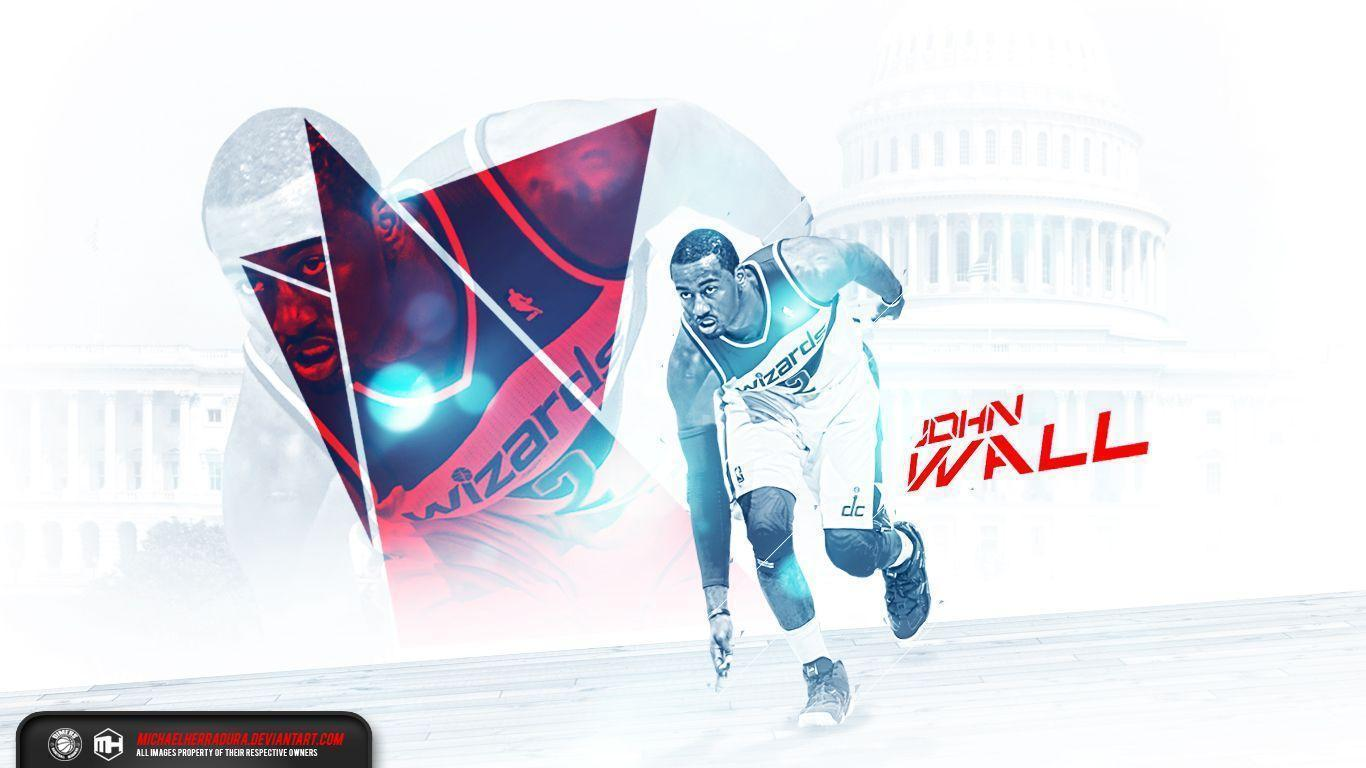 John Wall wallpaper by michaelherradura on DeviantArt