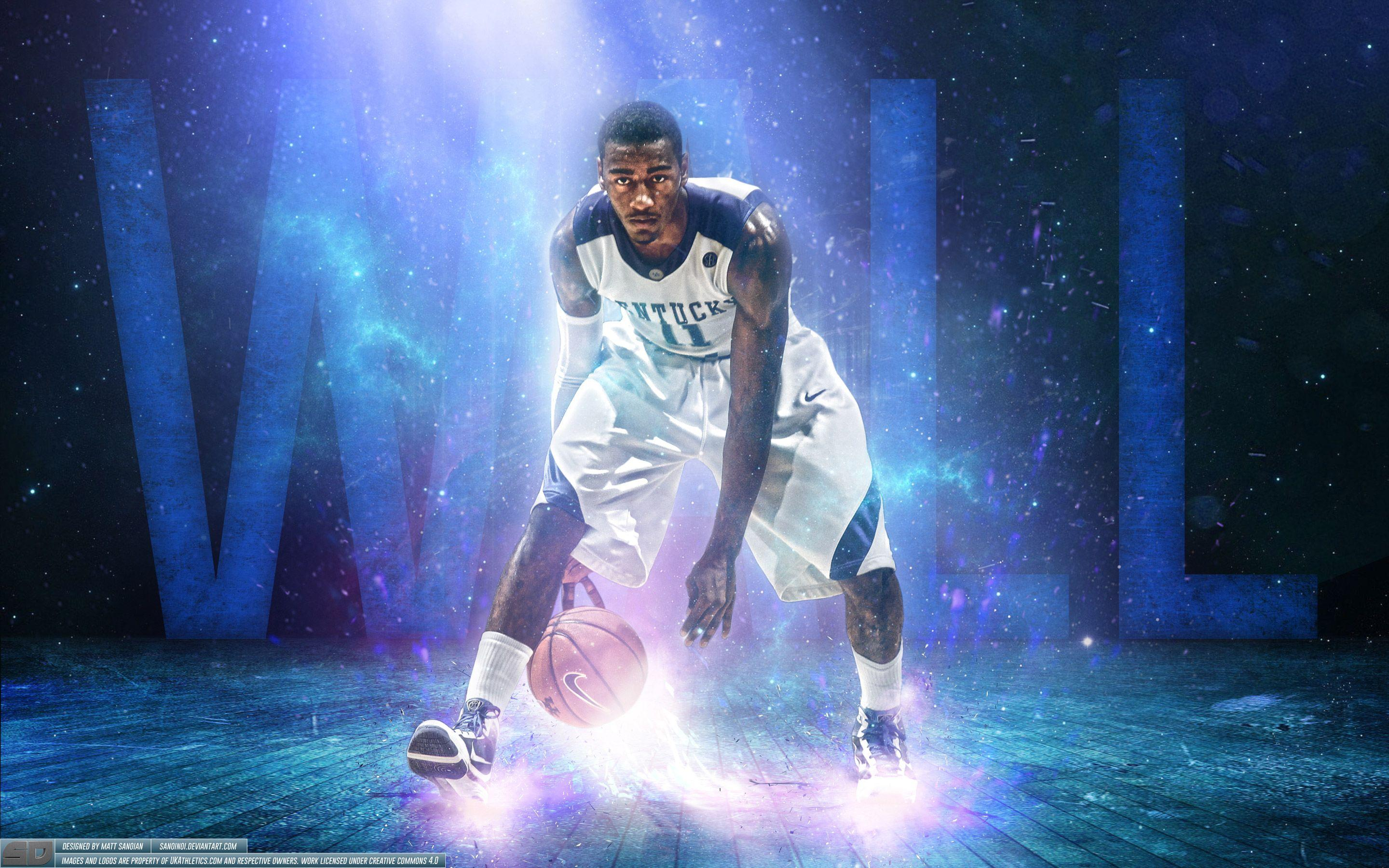 John Wall Kentucky Wildcats Wallpaper | Basketball Wallpapers at ...