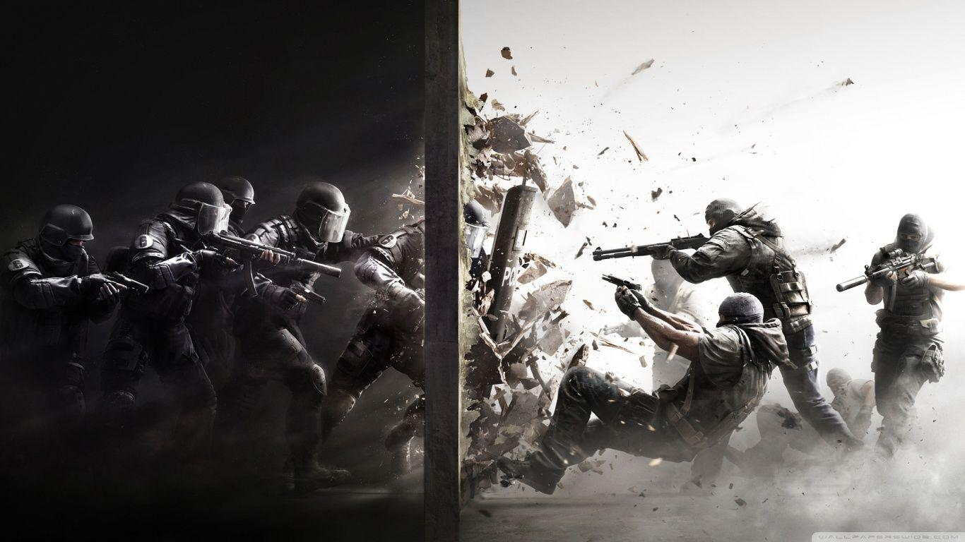 Tom Clancy's Rainbow Six Siege HD desktop wallpaper : High ...