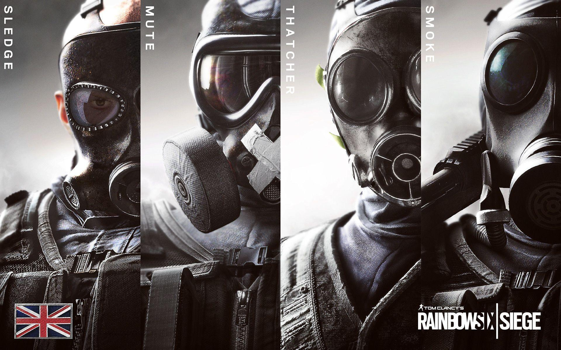 Tom Clancy's Rainbow Six HD Wallpapers and Backgrounds