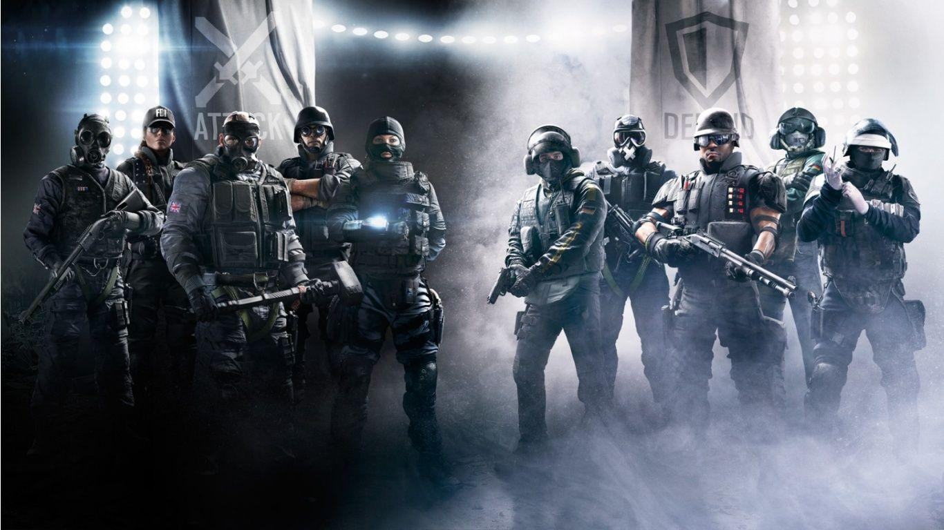 Attack And Defend Tom Clancy's Rainbow Six Siege Wallpapers ...