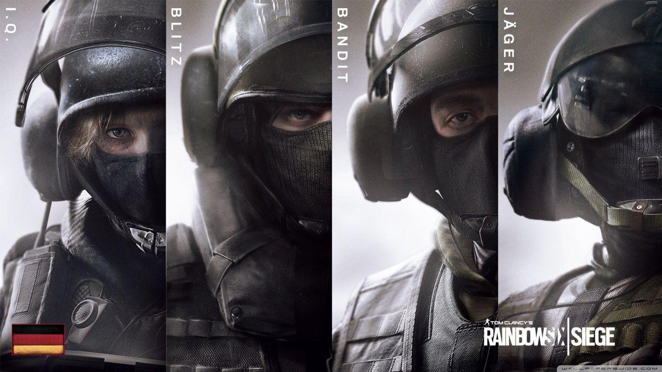 Tom Clancy's Rainbow Six Siege GSG-9 HD desktop wallpaper : High ...