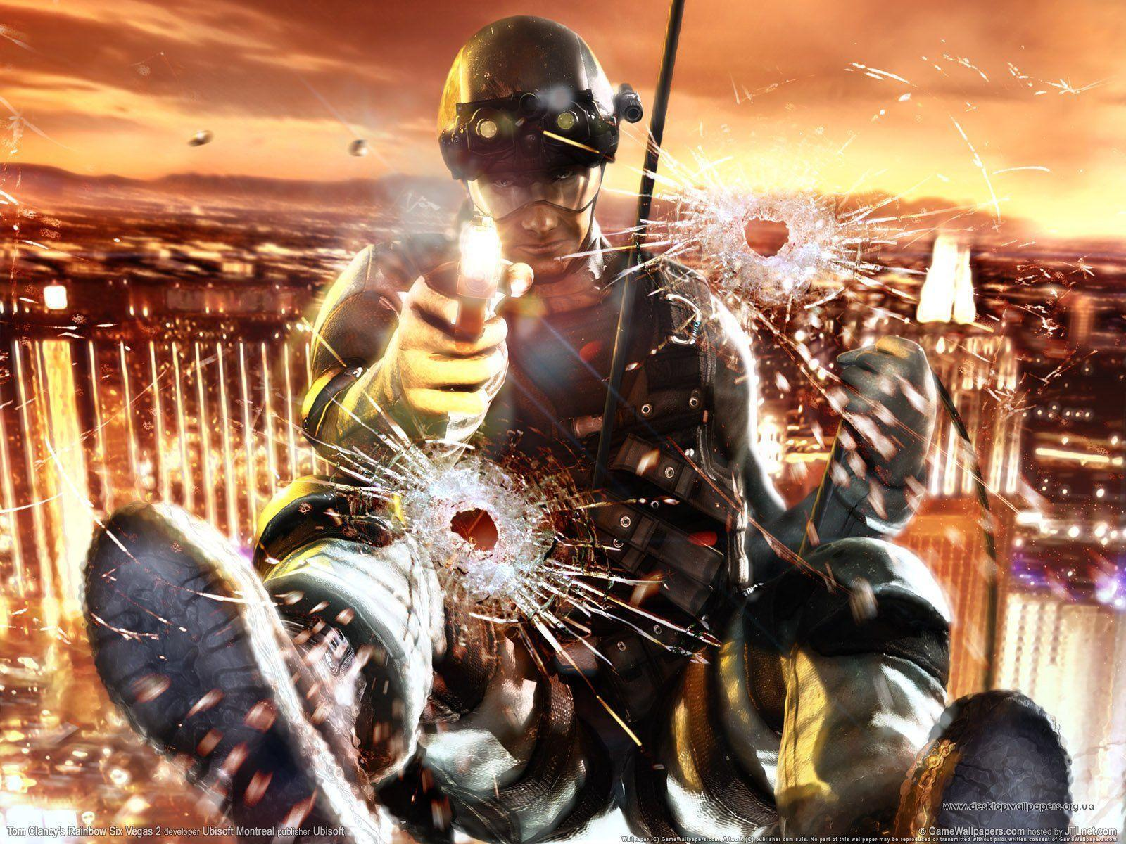 Best Game Wallpaper: Tom Clancy's Rainbow Six Vegas