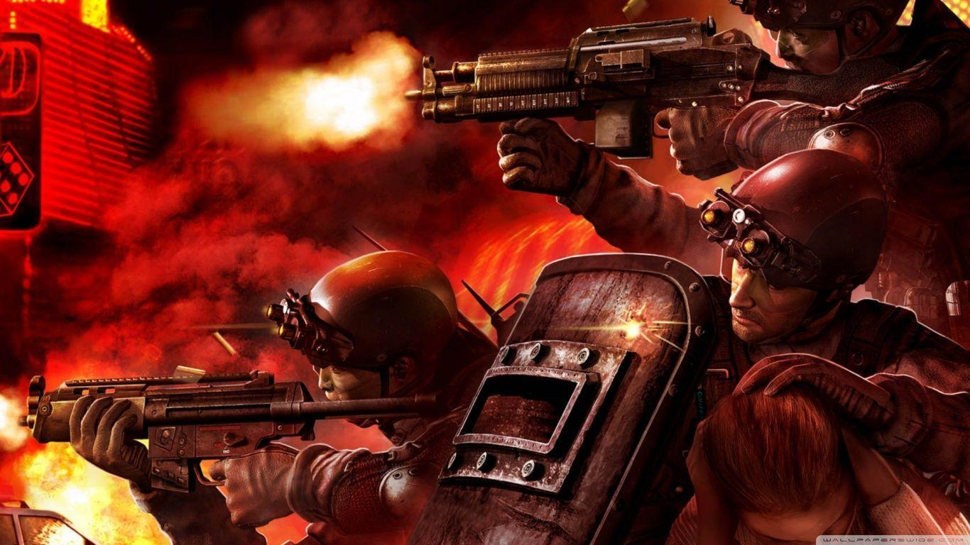 Tom Clancy's Rainbow Six Vegas Video Game HD desktop wallpaper ...