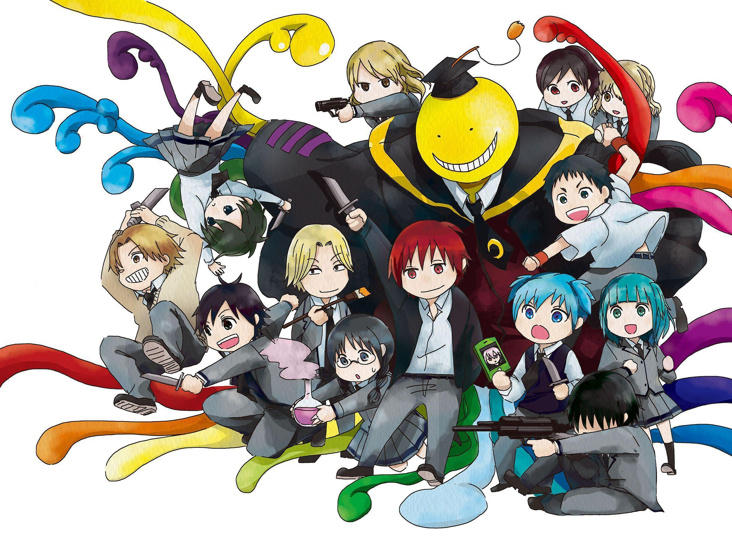 Assassination Classroom Wallpapers Wallpaper Cave
