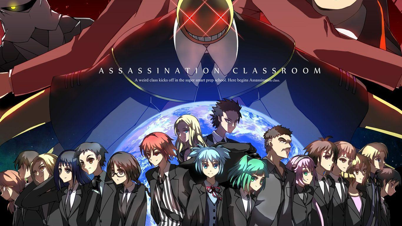 Assassination classroom wallpapers wallpaper cave - Anime wallpaper assassination classroom ...
