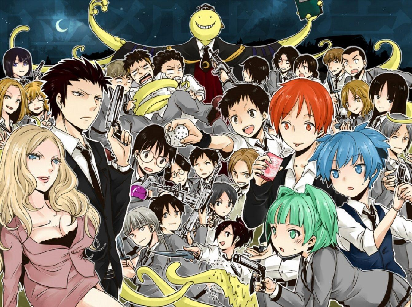 Assassination Classroom Anime Wallpapers HD