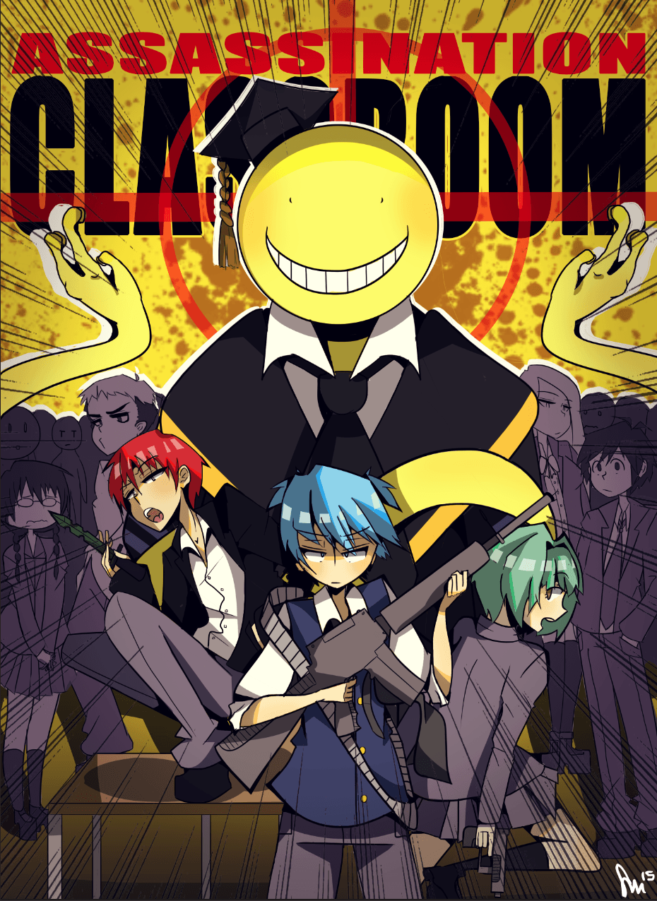 DeviantArt: More Like Assassination Classroom Wallpapers HD by