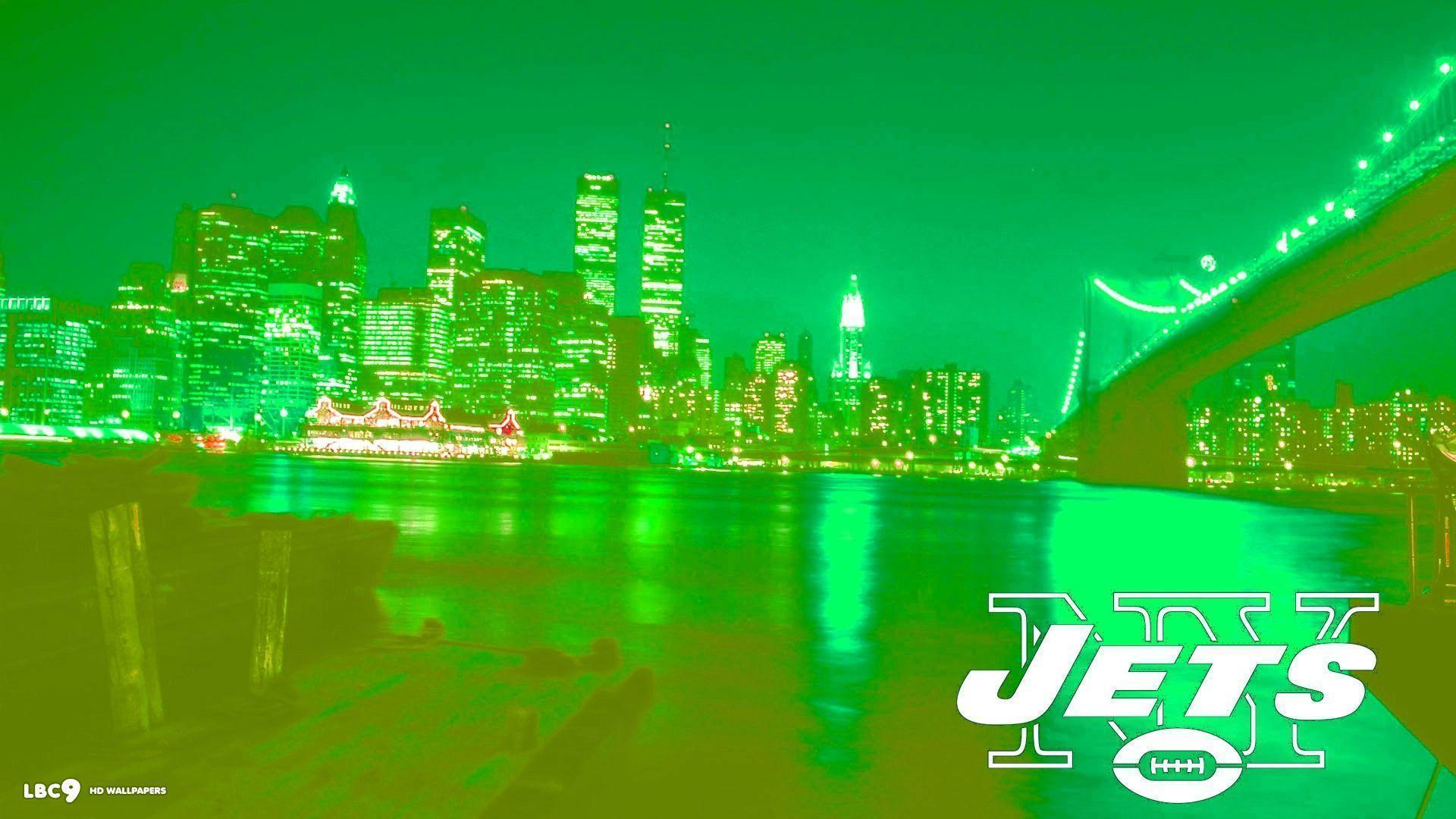 new york jets wallpapers 3/4