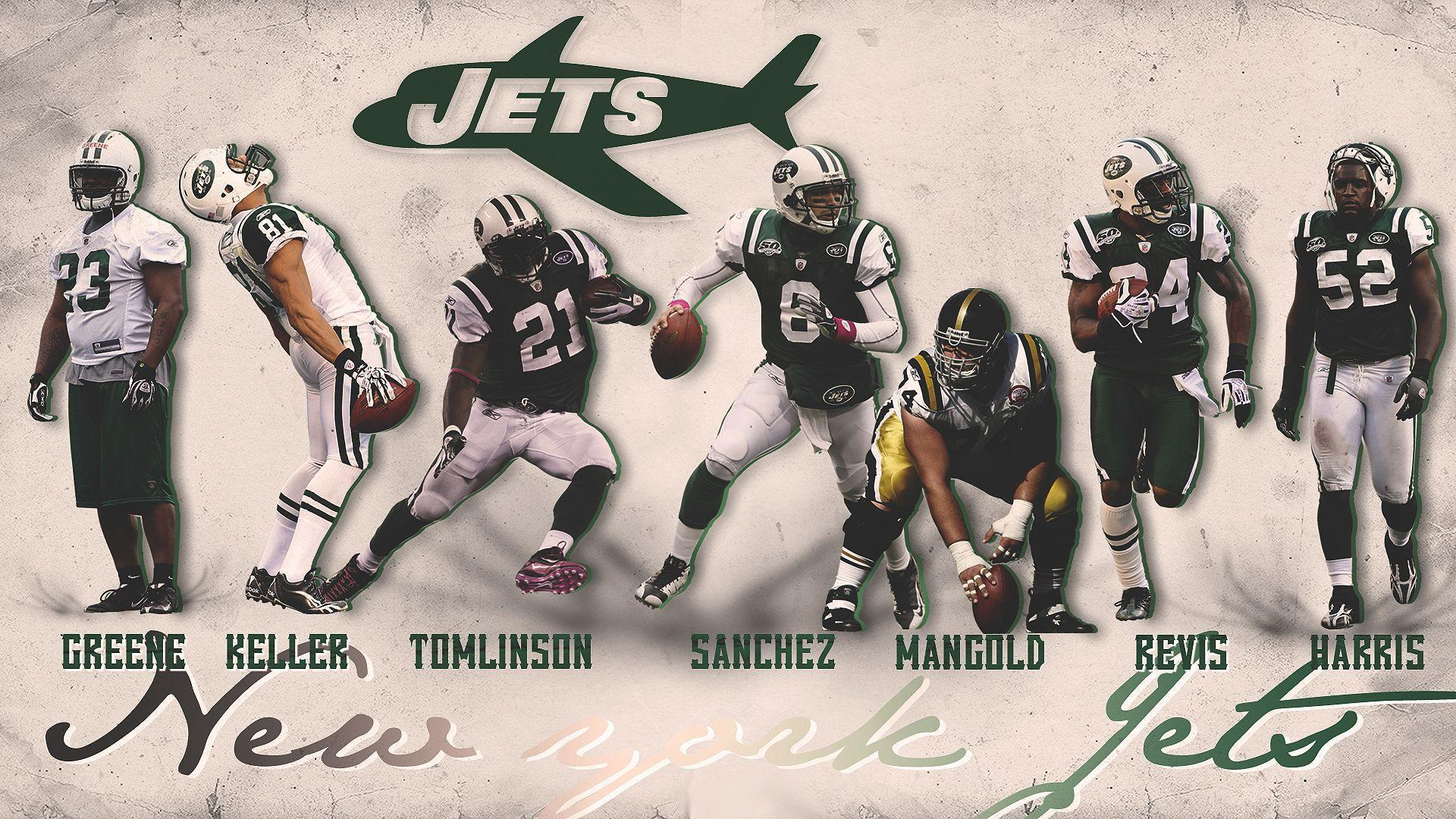 New York Jets Wallpapers by EwokHellkite