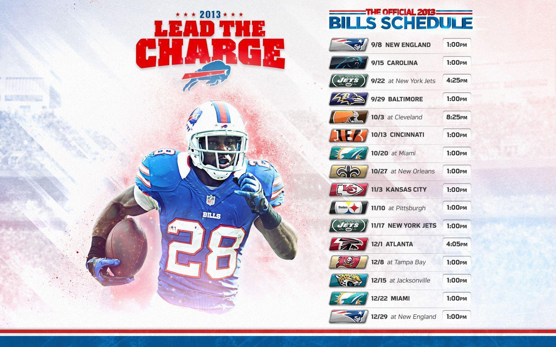 2015 Buffalo Bills Schedule Wallpapers