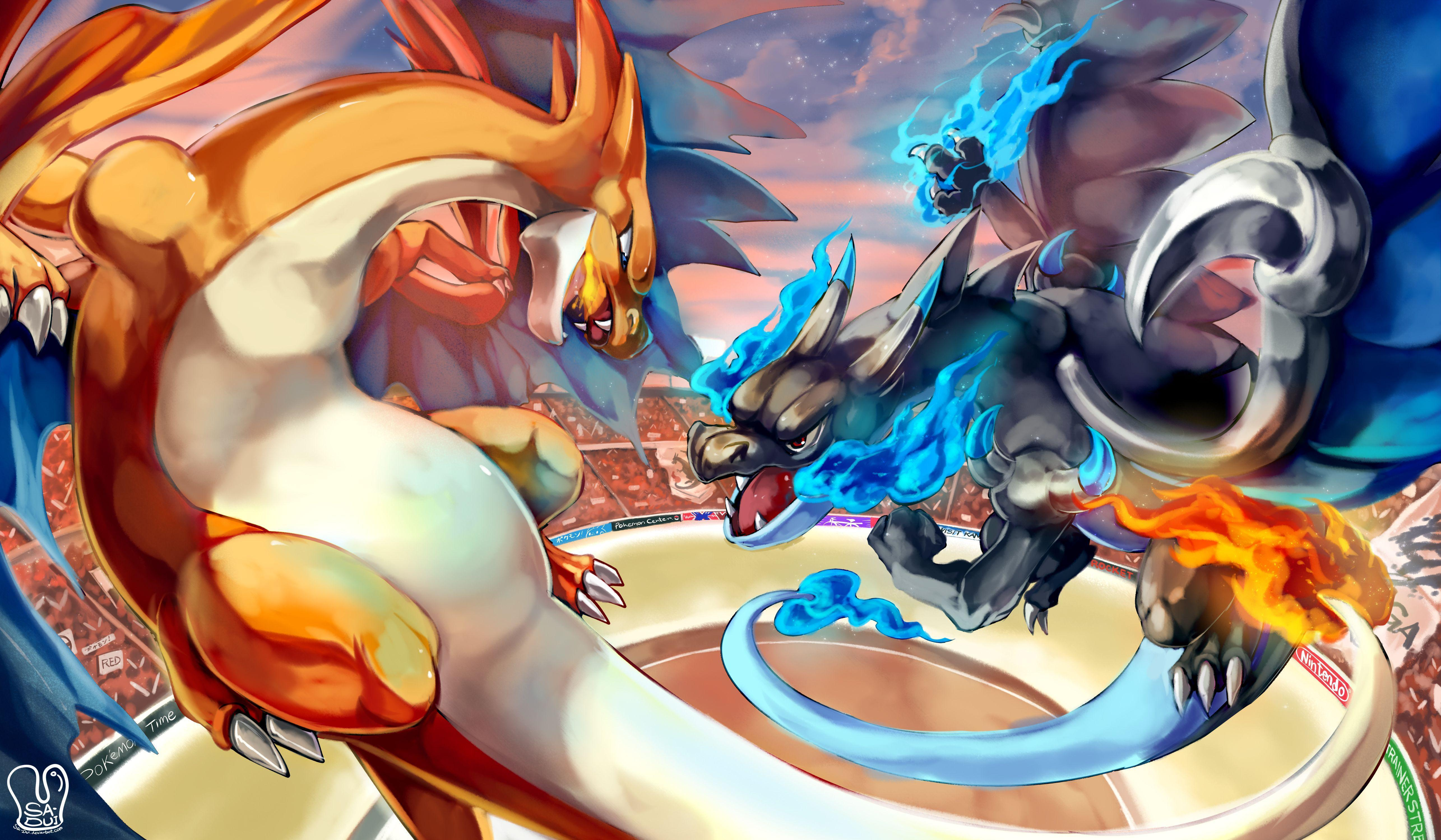 4 Mega Charizard Y (Pokémon) HD Wallpapers | Background Images ...
