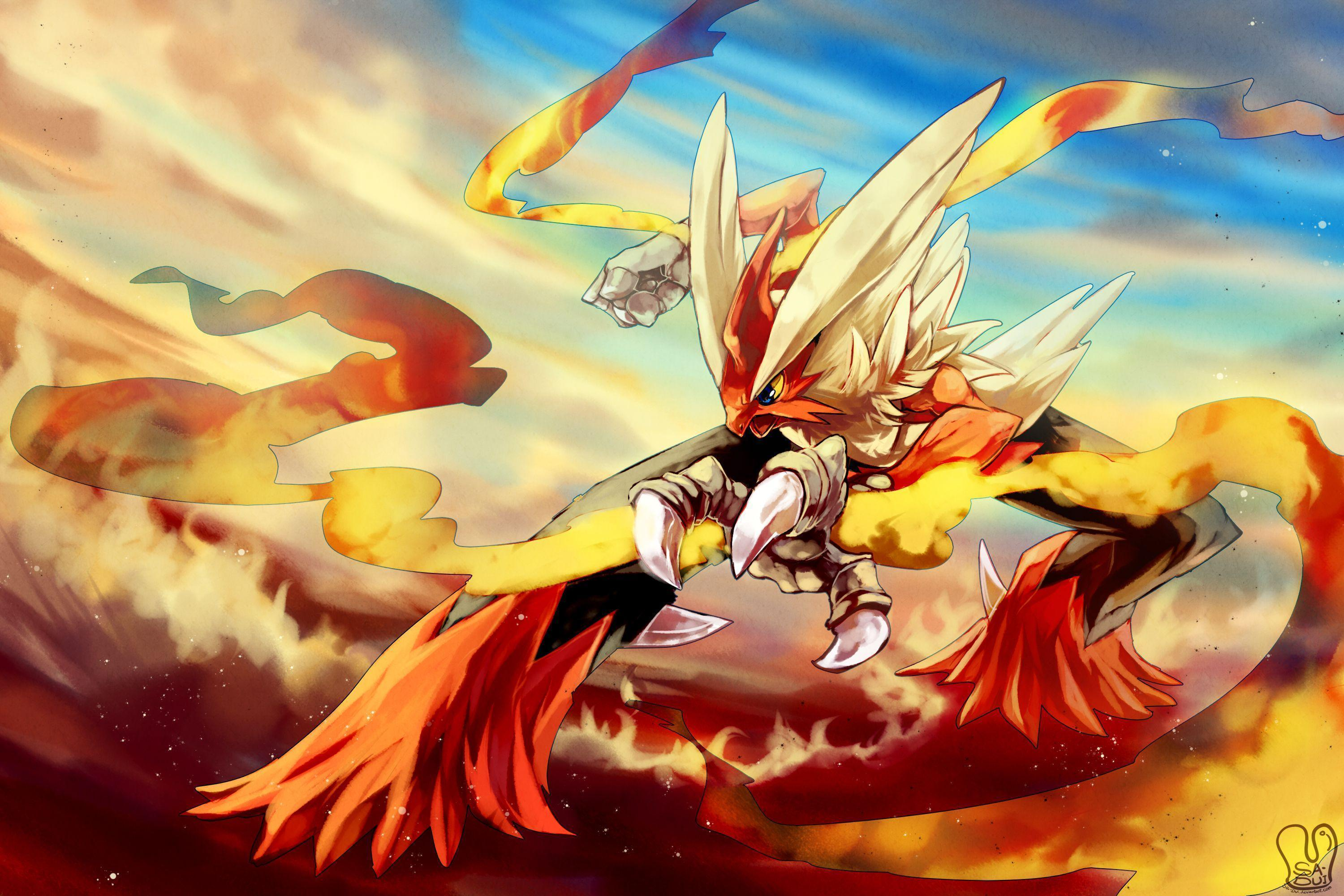 2 Mega Blaziken Pokemon HD Wallpapers