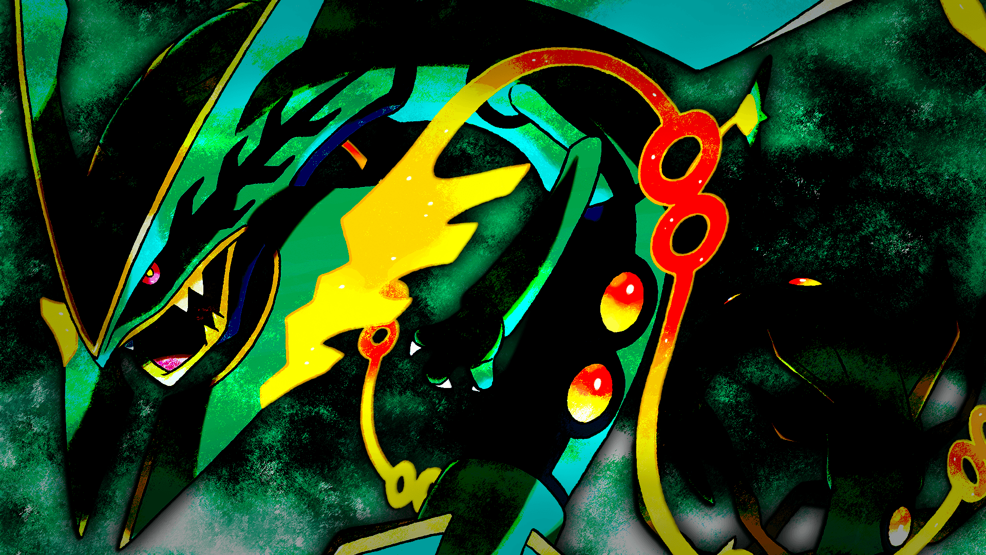rayquaza hd wallpapers wallpaper cave