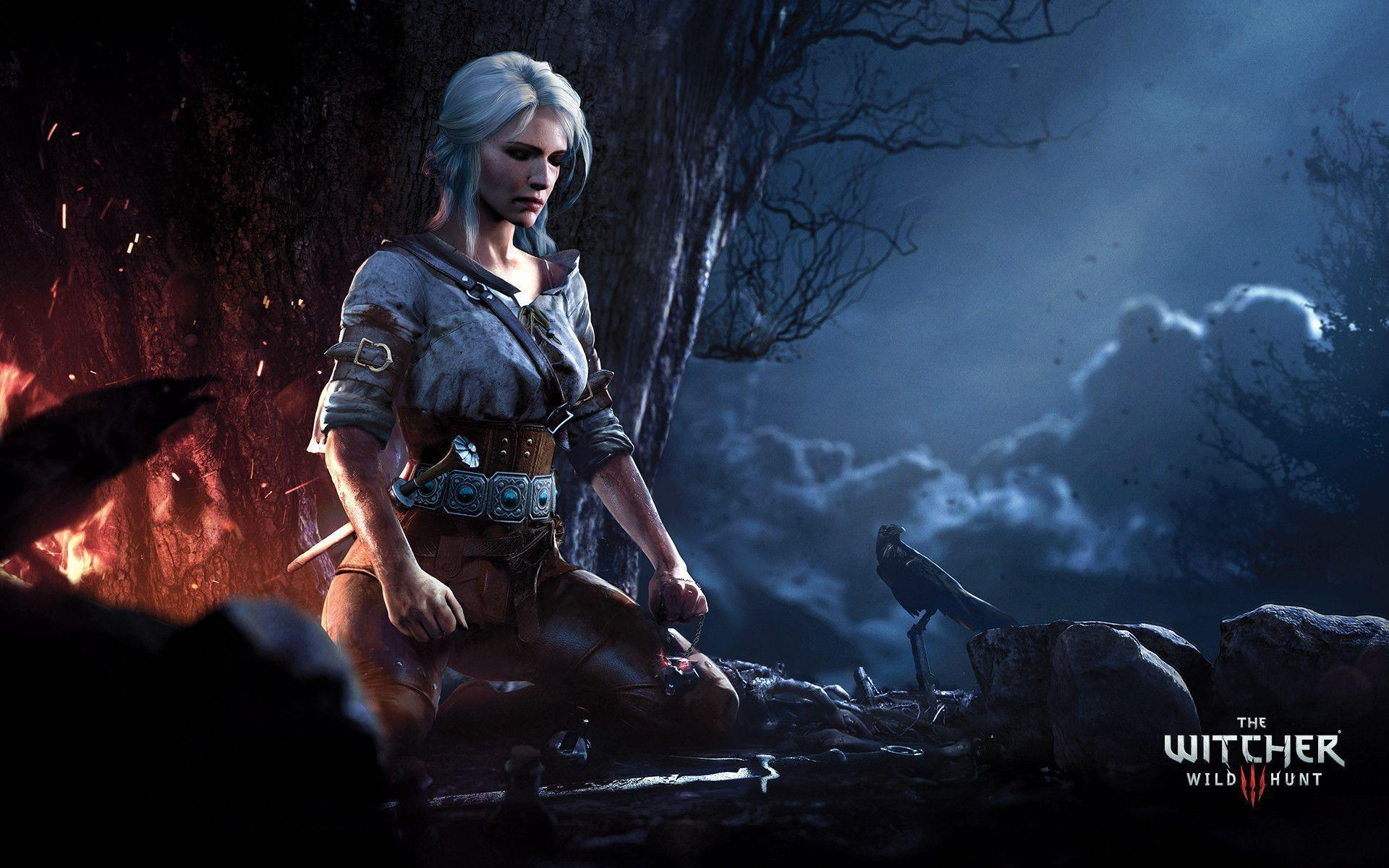 The Witcher 3 Wild Hunt Ciri Wallpapers