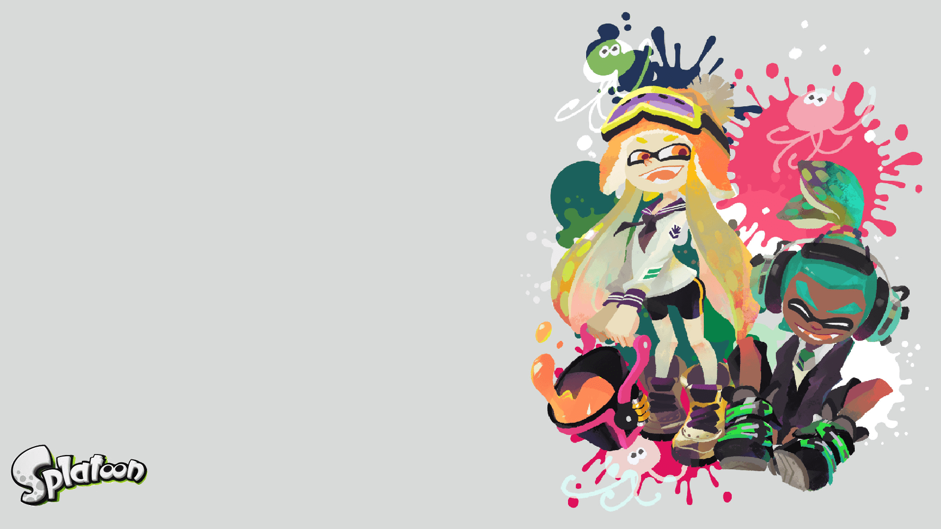 Splatoon Wallpapers Wallpaper Cave
